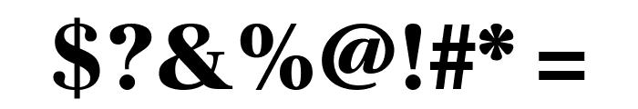 Frank Ruhl Libre Black Font OTHER CHARS