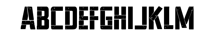 Frank-n-Plank Bold Font LOWERCASE