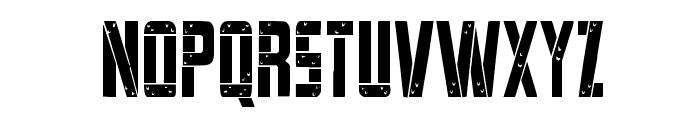 Frank-n-Plank Condensed Font UPPERCASE