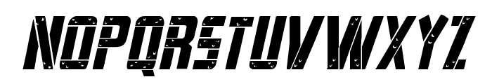 Frank-n-Plank Italic Font LOWERCASE