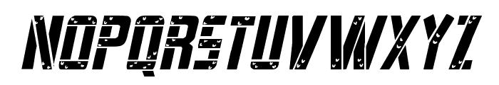 Frank-n-Plank Light Italic Font LOWERCASE