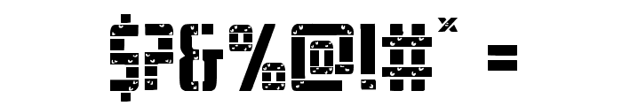 Frank-n-Plank Light Font OTHER CHARS