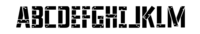 Frank-n-Plank Light Font UPPERCASE