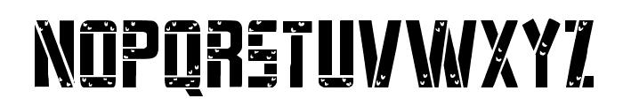 Frank-n-Plank Light Font LOWERCASE
