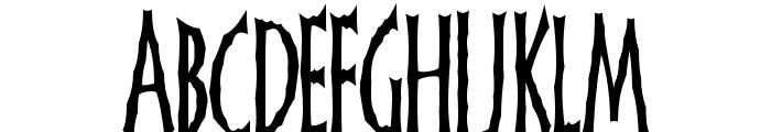 FrankenDork Tall Font UPPERCASE
