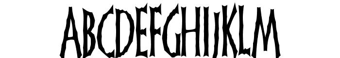 FrankenDork Tall Font LOWERCASE