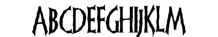 FrankenDork Font LOWERCASE