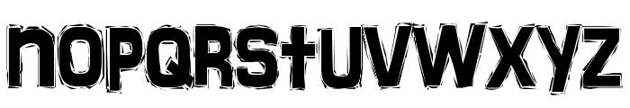 FrankenTOHO Font LOWERCASE