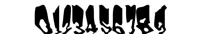 Frankenstein Font OTHER CHARS