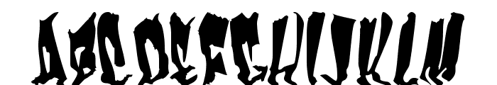 Frankenstein Font UPPERCASE
