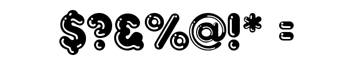 Frankfurt Font OTHER CHARS