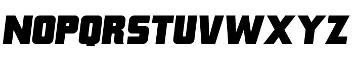 Franklin M54 Italic Font LOWERCASE
