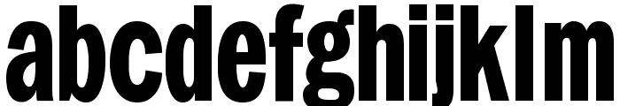 FranklySpokenTwo Font LOWERCASE