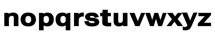Frankston Bold Font LOWERCASE