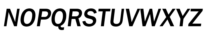 Frankston Italic Font UPPERCASE