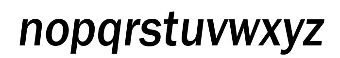 Frankston Italic Font LOWERCASE