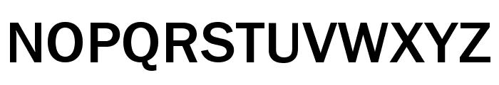 Frankston Regular Font UPPERCASE
