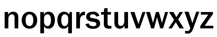 Frankston Regular Font LOWERCASE