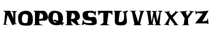 Frantic JL Font LOWERCASE
