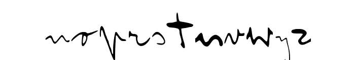 Franz Kafka Font LOWERCASE