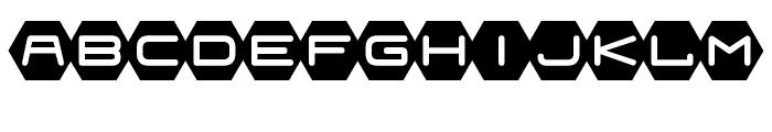 Fraulein Hex Font UPPERCASE