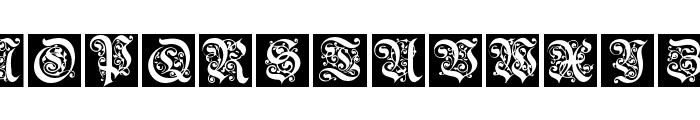 FraxBoxes Font UPPERCASE