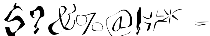 FraxxSketchQuil l Font OTHER CHARS