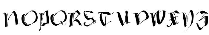 FraxxSketchQuil l Font UPPERCASE