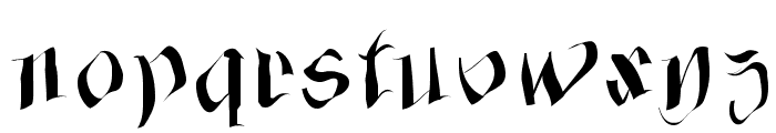 FraxxSketchQuil l Font LOWERCASE