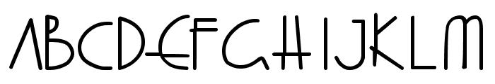 Fray Gabriel Font LOWERCASE