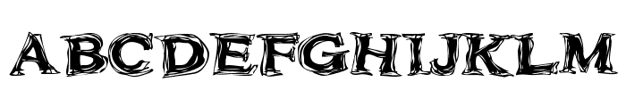 Frazzle Font UPPERCASE