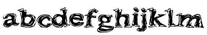 Frazzle Font LOWERCASE