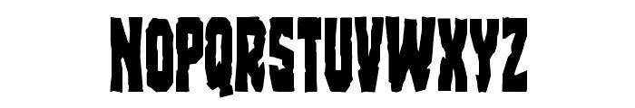 Freakfinder Condensed Font UPPERCASE
