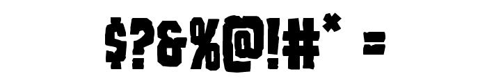 Freakfinder Font OTHER CHARS