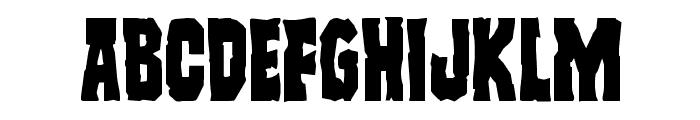 Freakfinder Font UPPERCASE