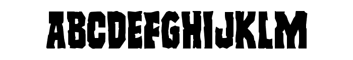 Freakfinder Font LOWERCASE