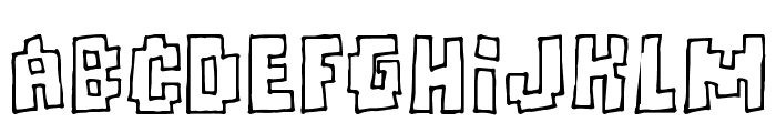 Freaks of Nature Font LOWERCASE