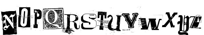 Freakshow Font UPPERCASE