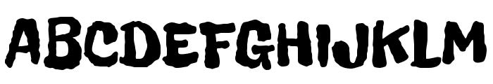 Freckle Face Font UPPERCASE