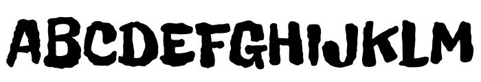 FreckleFace-Regular Font UPPERCASE
