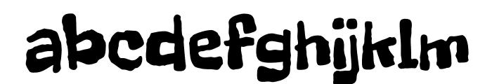 FreckleFace-Regular Font LOWERCASE