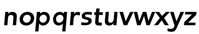 Frederic Bold Italic Font LOWERCASE