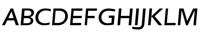 Frederic Regular Italic Font UPPERCASE