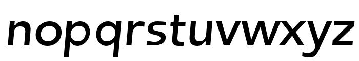 Frederic Regular Italic Font LOWERCASE