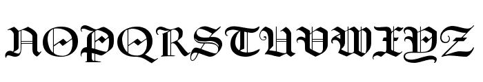 FrederickText Font UPPERCASE