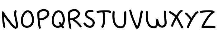 Fredfont Font LOWERCASE