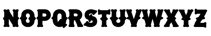 Free Biker Font UPPERCASE