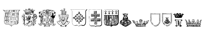 Free Medieval Font LOWERCASE