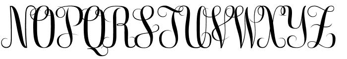 Free Monogram Beta Font LOWERCASE