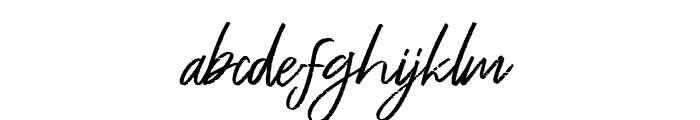 Free Pen Font LOWERCASE